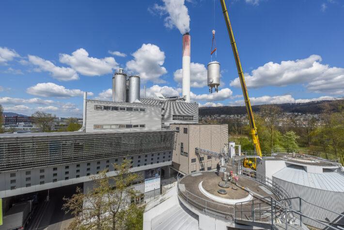Reaktor in der Luft Drohne