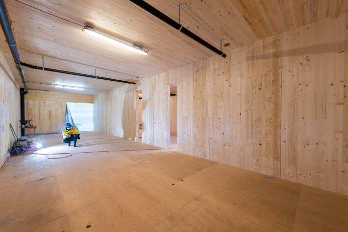 Innenraum Holz
